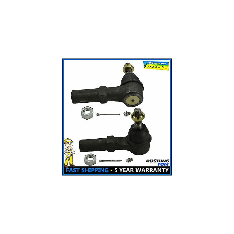 Front Outer Steering Tie Rod Kit for Chevrolet Silverado 1500 2500 HD GMC