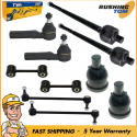 10Pc Ball Joint Tie Rod Sway Bar Suspension Kit Left & Right for Caravan Voyager