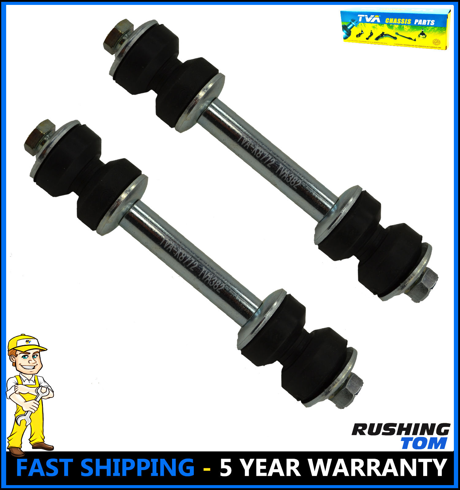 PartsW 2 Pcs Suspension Kit for Ford Expedition F-150 F-250 /& Lincoln Blackwood Navigator Front Sway Bar Links