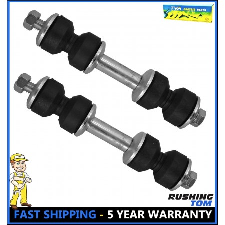 2 Front Stabilizer Sway Bar Link Left & Right for 1986-1997 Ford Aerostar