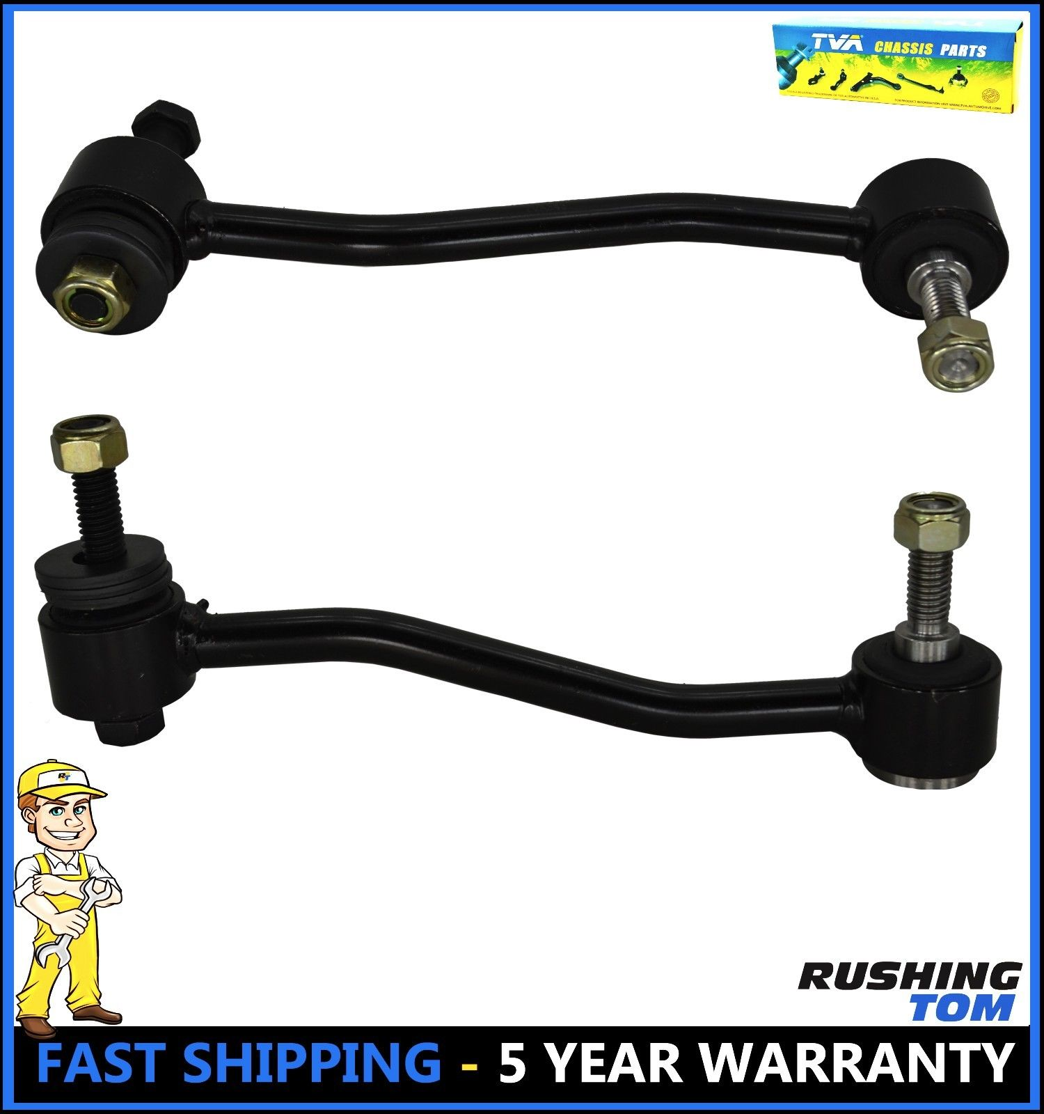 Note: 4WD 2008 fits Ford F-150 Front Suspension Stabilizer Bar Link With Five Years Warranty