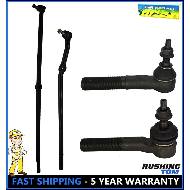 6 Piece Kit inner outer Tie Rod End Sway Bar Link LH RH for Mazda 3 New