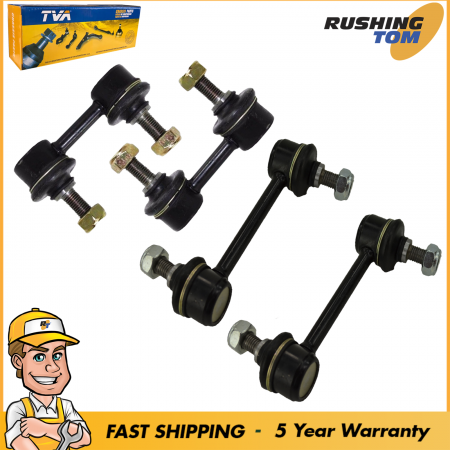 Front & Rear Sway Bar Link Kit 4 fits Corolla Prizm Celica Toyota Chevy