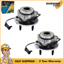2 Front Wheel Hub Bearing Assemblies for Chevrolet GMC Isuzu Oldsmobile
