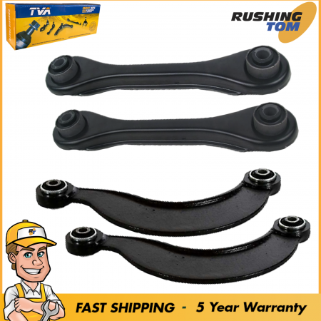 New 2 Rear Upper Control Arms 2 Rear Trailing Arms Fits Mazda 3