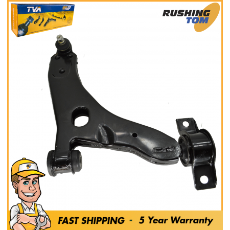 1 Brand New Front Lower Right Control Arm w/Ball Joint & Bushing for Ford Focus