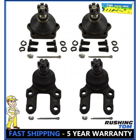 4Pc Front Upper & Lower Ball Joint Kit fits Nissan 720 D21 Pathfinder Pickup 4WD