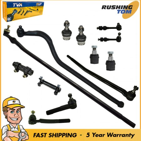 13Pc Complete Front Steering Suspension Kit for Dodge Ram 2500 HD 1998-1999